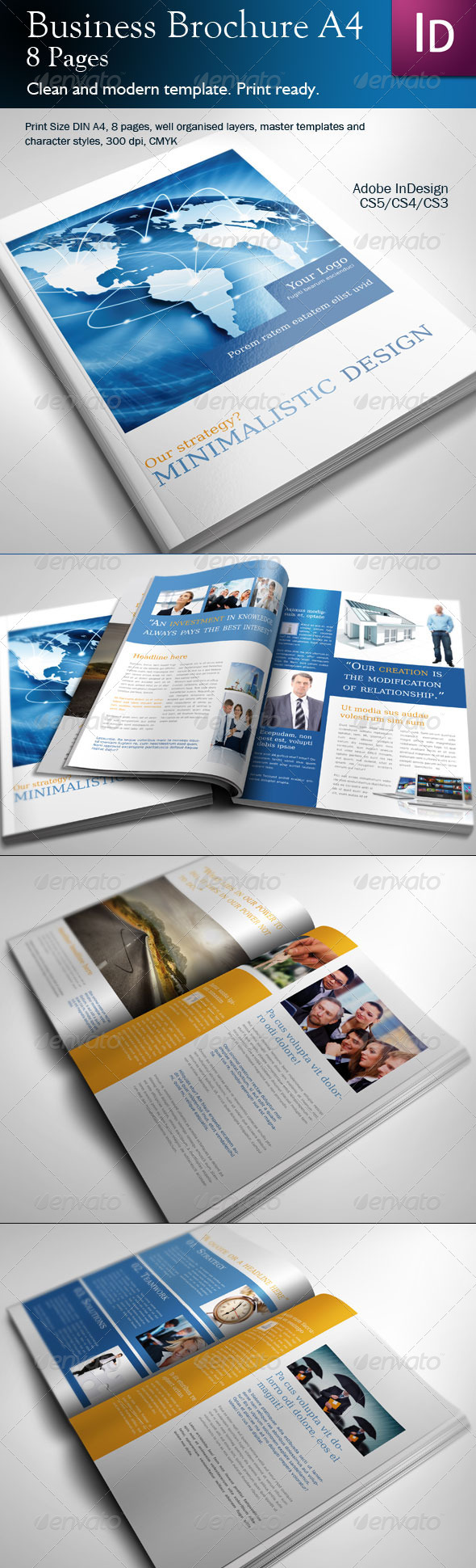Business Brochure A4 - Corporate Brochures