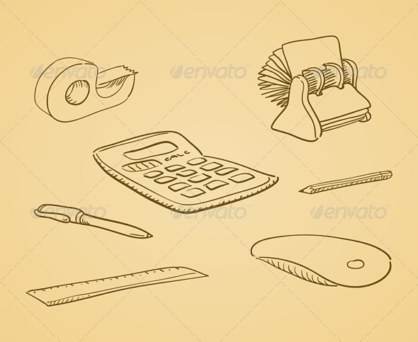Illustrated Office Tools