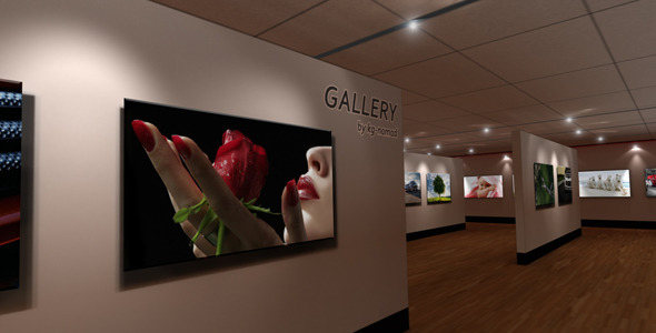 VideoHive AE Virtual Gallery v 1.0 2060209
