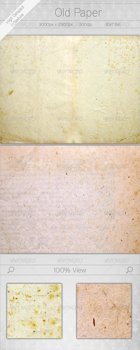 Old Paper - Paper Textures