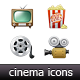 Cinema Icons - GraphicRiver Item for Sale