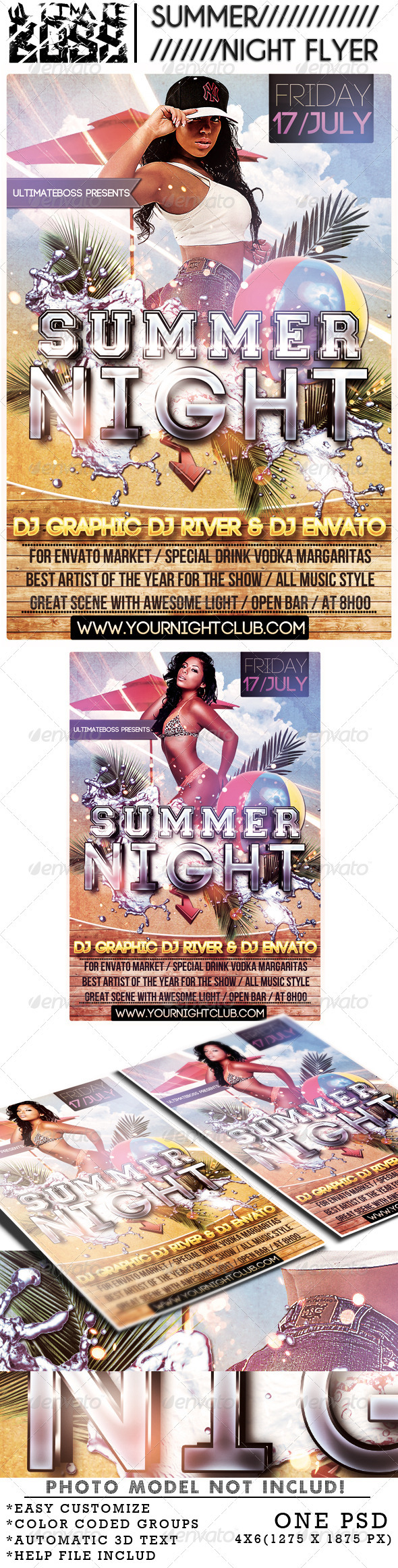 GraphicRiver SUMMER NIGHT 2035961