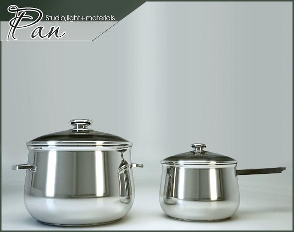 3DOcean Pan 78343