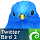 Twitter Bird 2 - GraphicRiver Item for Sale