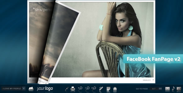 ActiveDen FaceBook FanPage v2 FlipBook 2062586