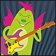Dragon Rockstar - GraphicRiver Item for Sale