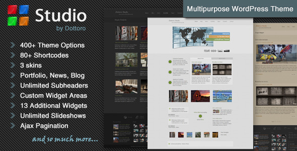 Dottoro Studio - Multipurpose WordPress Theme - Large Thumbnail