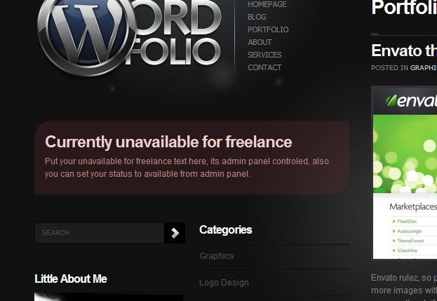 Wordfolio