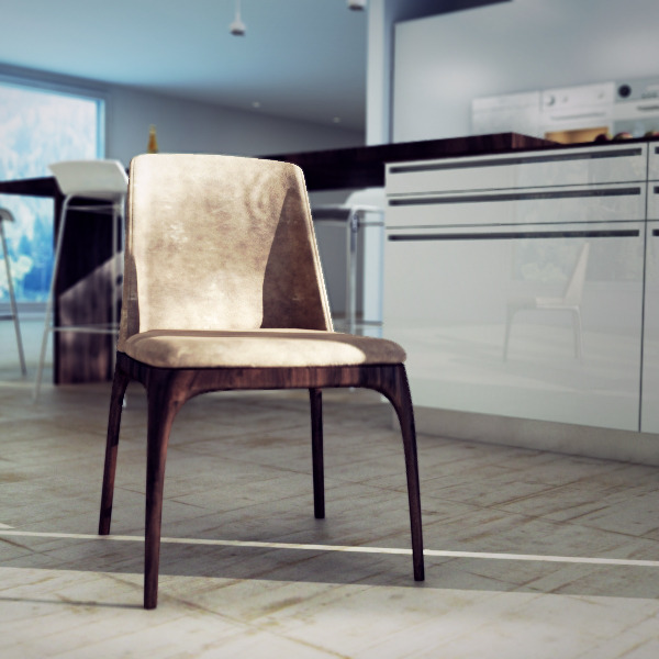 3DOcean Poliform Grace Dining Chair 2063375