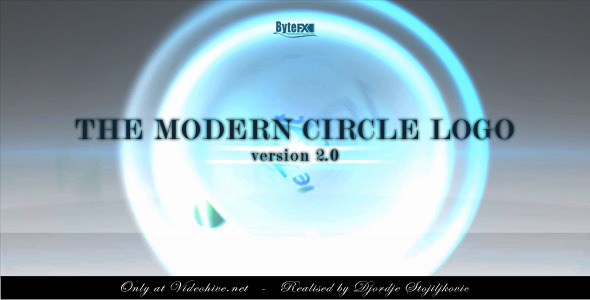 After Effects Project - VideoHive The Modern Circle Logo V2 2063405