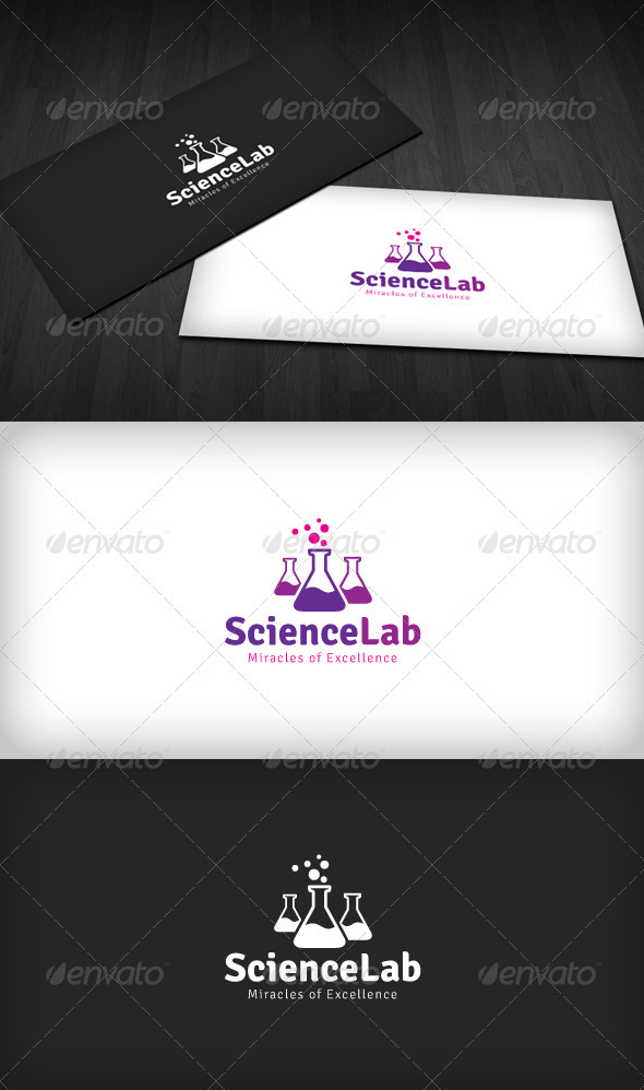 Science Lab Logo - Symbols Logo Templates