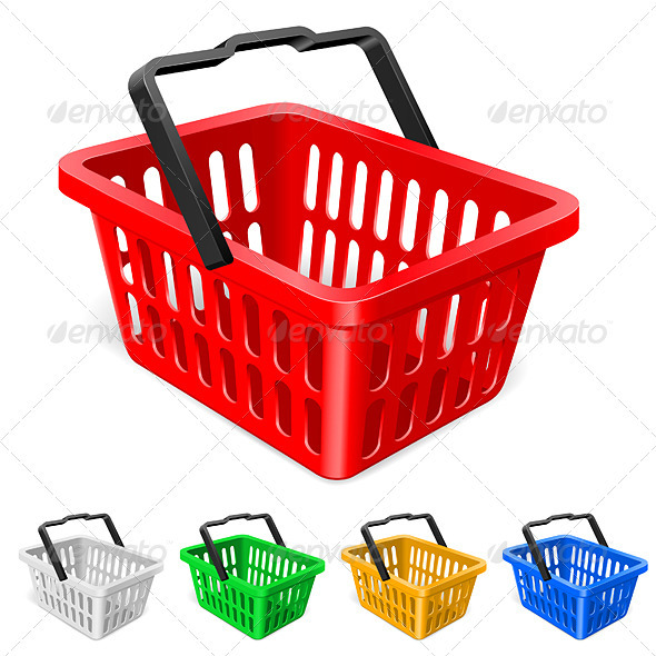 GraphicRiver Colorful shopping basket 2064120