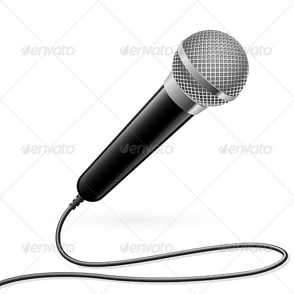 GraphicRiver Microphone for Karaoke 2064437