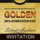 Corporate Invitation - Golden Ticket - GraphicRiver Item for Sale