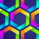 Download Vector Seamless Background With Colorful Hexagons