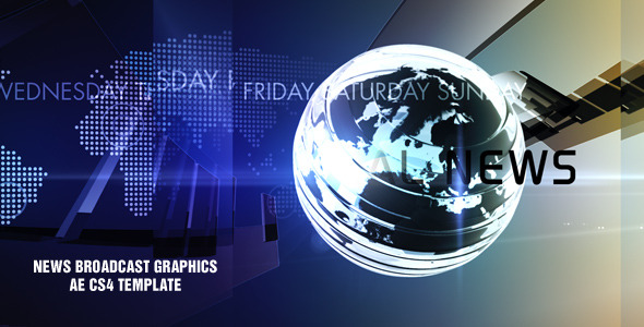 After Effects Project - VideoHive News Broadcast Graphics Pack 2066203