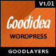 Goodidea - creative wordpress theme - ThemeForest Item for Sale