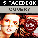 5 Creative Facebook Timeline Covers - GraphicRiver Item for Sale