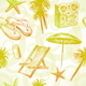 Seamless Hand Drawn Tropical Background - GraphicRiver Item for Sale
