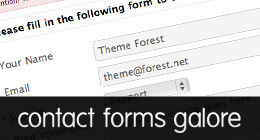 Contact Forms Galore