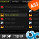 Advanced Drop Down Menu 03 AS3 - ActiveDen Item for Sale