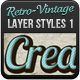 Vintage - Retro Text Styles - GraphicRiver Item for Sale
