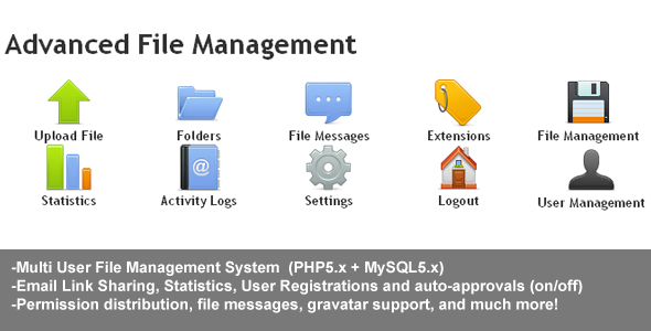 CodeCanyon Advanced File Management 61693