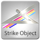 Striking Object Logo Sting - VideoHive Item for Sale