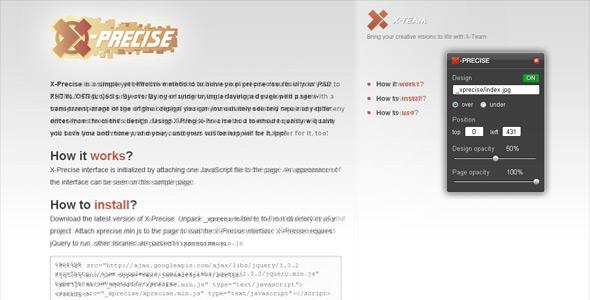 CodeCanyon X-Precise 78685
