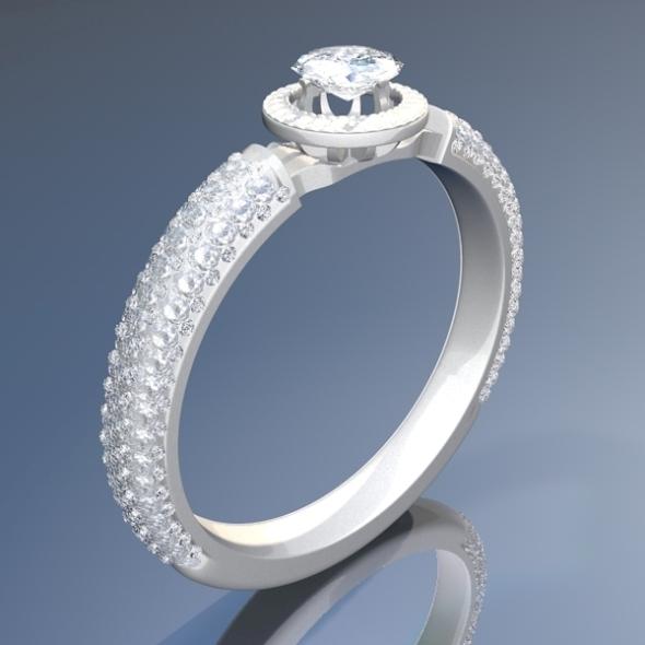 3DOcean Diamond Ring 3D 2071113
