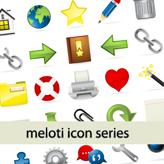 Meloti Icon Series - Internet & blogging - GraphicRiver Item for Sale
