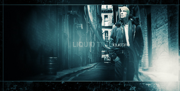 After Effects Project - VideoHive Liquid time 2071945
