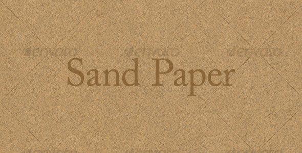 GraphicRiver Sandpaper Texture 78728