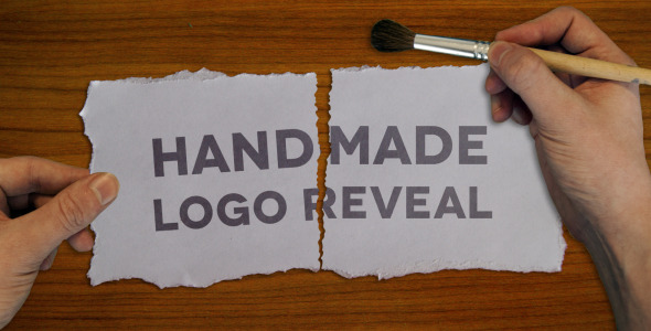 After Effects Project - VideoHive Handmade Logo Reveal 2073857