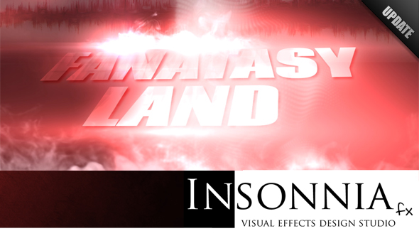 After Effects Project - VideoHive Fantasy Land 163536