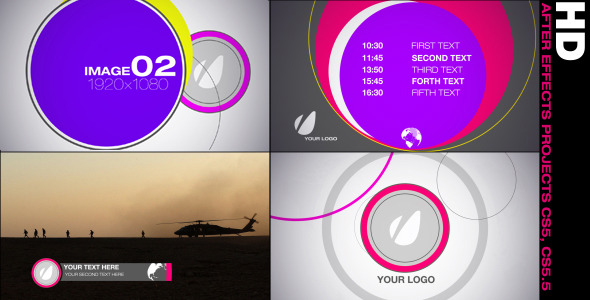 After Effects Project - VideoHive Promo Graphics Package 2034601