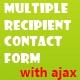 Πολλαπλές Φόρμα Επικοινωνίας παραλήπτη με τον Άγιαξ - WorldWideScripts.net στοιχείο για την πώληση