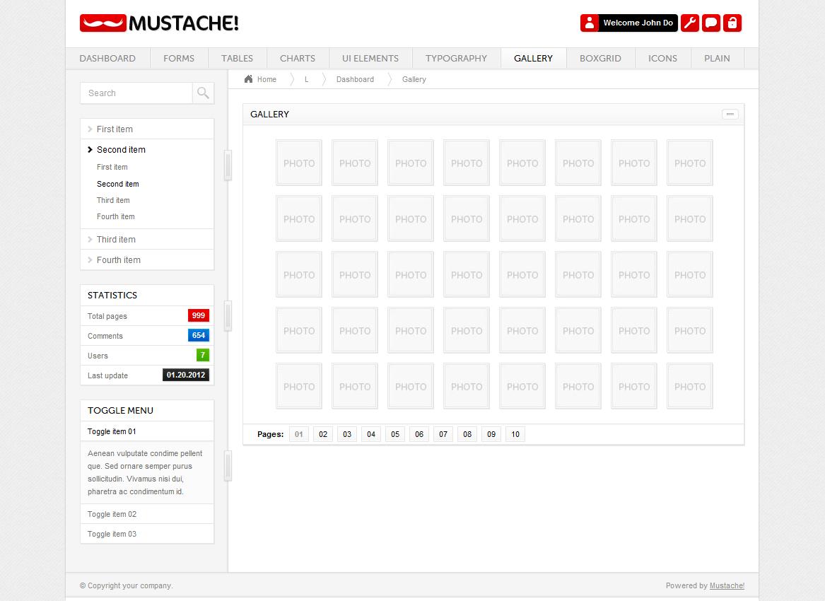 Mustache! - Admin - Screenshot 09