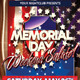 Memorial Day Flyers - GraphicRiver Item for Sale