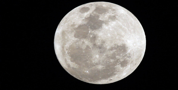 Full moon glowing close up by azamshah72v videohive - Moon close up ...