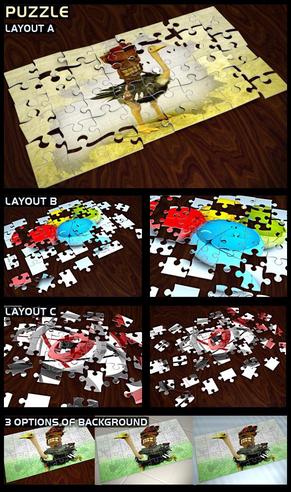 3DOcean Puzzle 78885