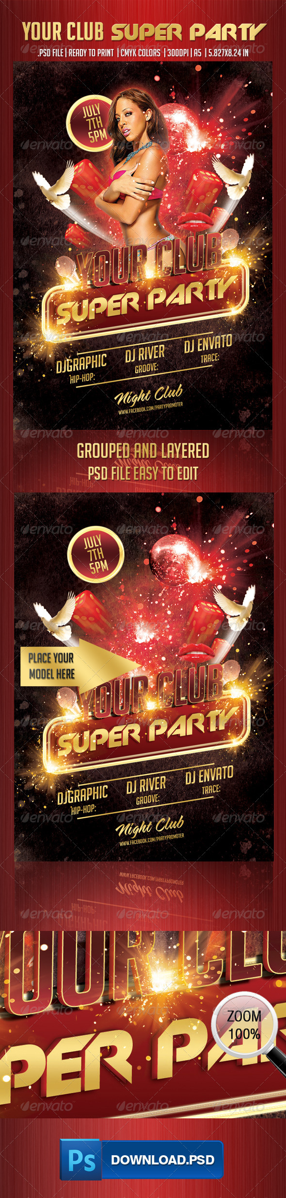 Your Club Super Party  - Clubs & Parties Events