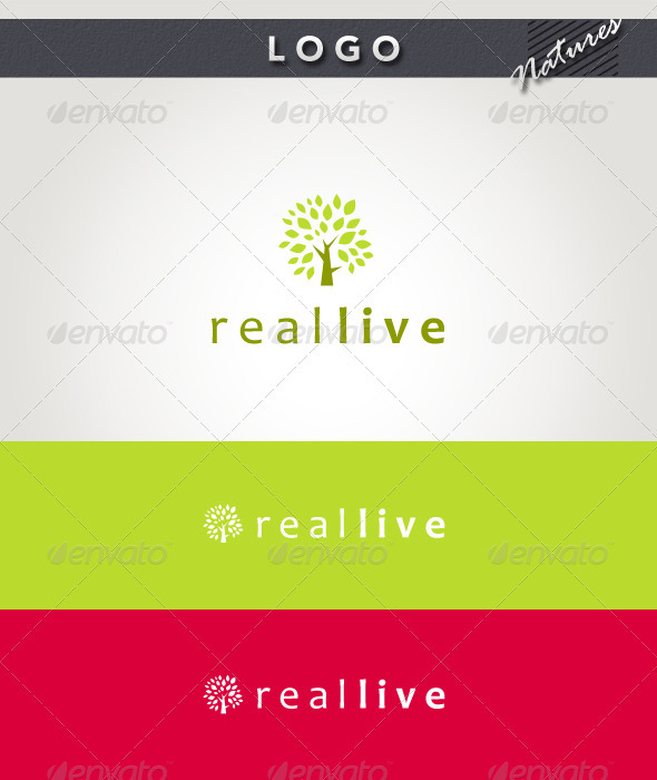 Real Live Logo