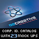 Creative Agency Corporate Identity Catalog v6 - GraphicRiver Item for Sale