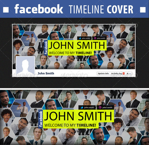 GraphicRiver Facebook Timeline Cover #2 2080766