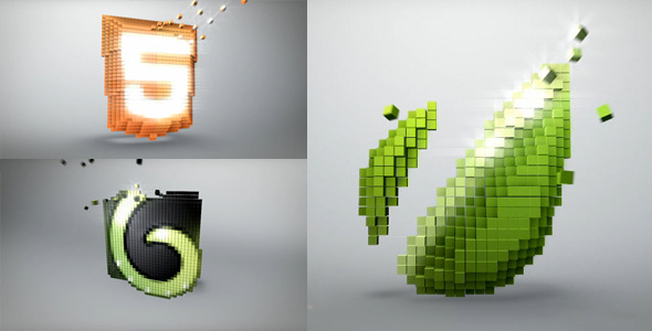 After Effects Project - VideoHive Voxel Channel 2081725