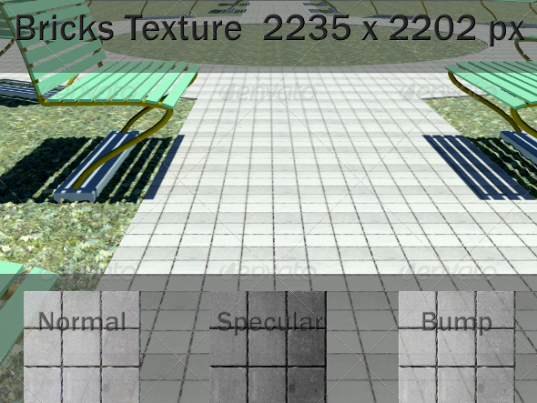 3DOcean Ground Paving Texture 2081727