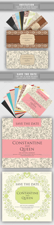Invitaciones de Boda Baratas: Conjunto de 20 Invitaciones