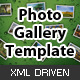 XML Photo Gallery Template