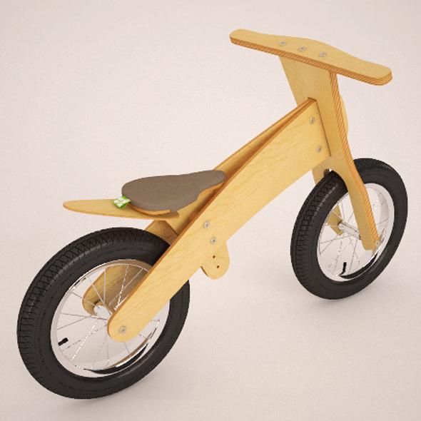 3DOcean Wood bike 2085154